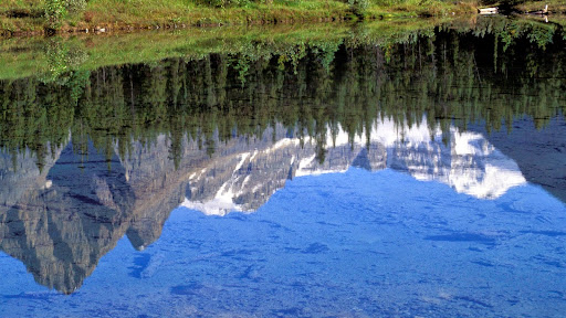 Reflections of the Rocky Mountains, Alberta, Canada.jpg