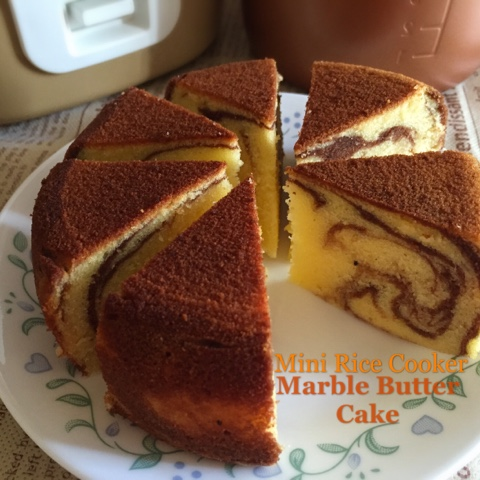 Marble Cake Recipe Using Rice Cooker