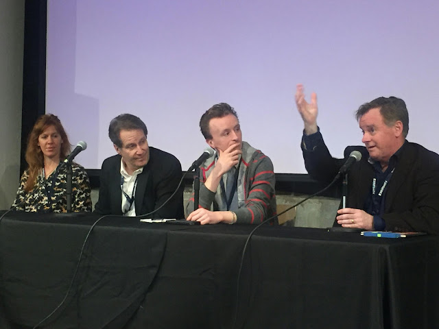 Actor's Panel discussion: Kate Nowlin, Peter Moore, Paul Cram and Patrick Coyle