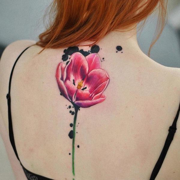 esta_gloriosa_aquarela_flor_da_tatuagem