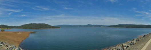 Lake Oroville, April19, 2016