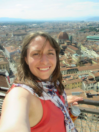 From the top of the Duomo, Florence.  #StudyAbroadBecause... the experience changes you in the most unexpected and amazing ways.