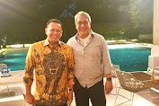 Ketua MPR RI Bambang Soesatyo Ajak Pembalap Senior Ricardo Gelael Besarkan IMI