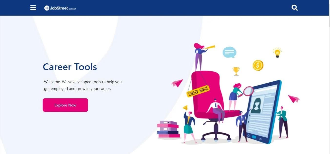 JobStreet's Career Tools
