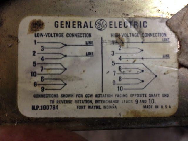 G E Tri Clad 10 Wire Motor Diagram VintageMachinery Org
