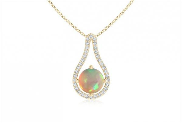 Cute opal pendant designs summer 2017 styles art the admixture of these two designs is showcased beneath and you can alike accept to buy any of these admirable opal chaplet designs aloadofball Images