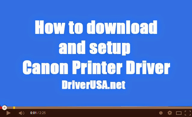 How to download and install Canon PIXMA MP628 Inkjet printer driver