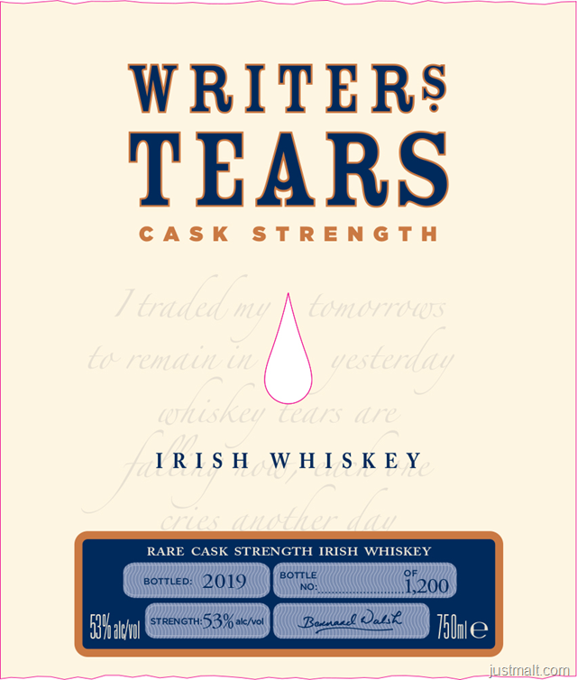 Writer's Tears - Cask Strength