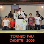 TORNEO PAU CADETE 2009
