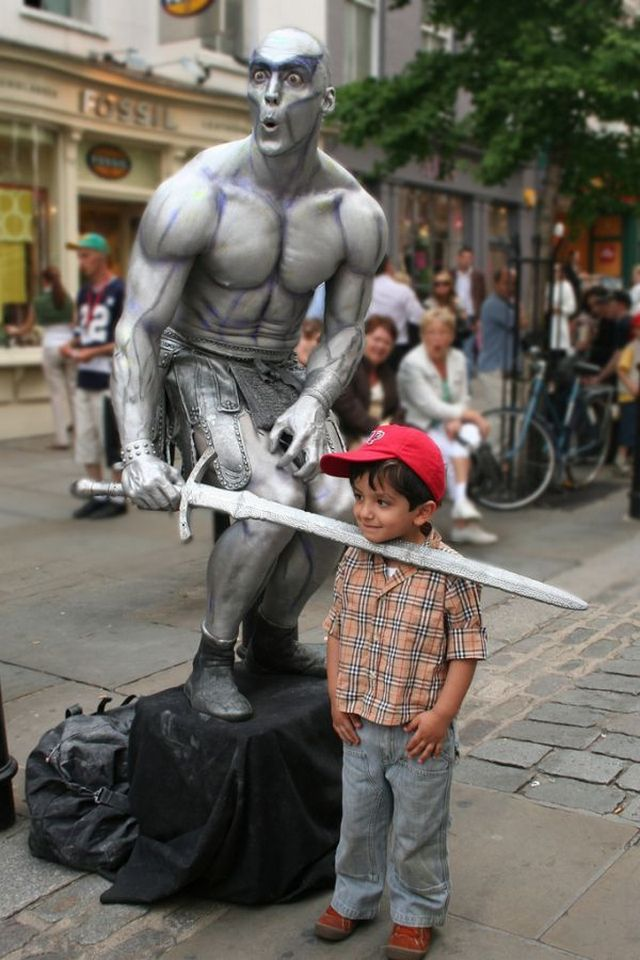Scary Animals That Are Real Living Statues Around ...