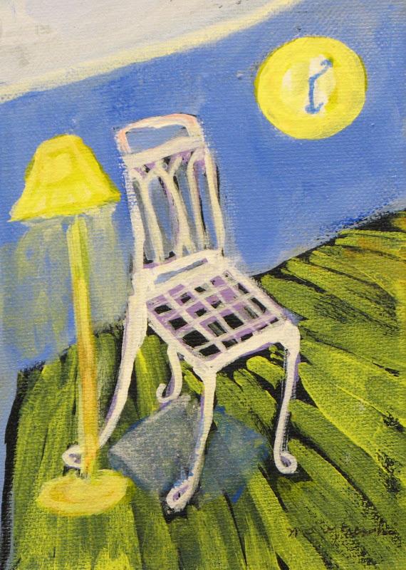 """""""Cool Chair"""" Acrylic"""