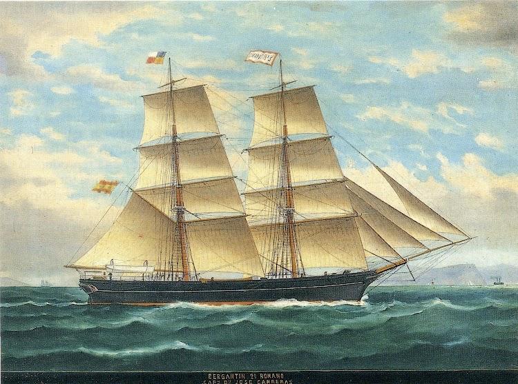 Oleo de Mongay. Gentileza de Angel Martinez i de Laguardia. La Marina Mercant de Lloret de Mar. Segles XVIII y XIX.jpg
