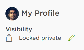 Locked Private Profile Upwork