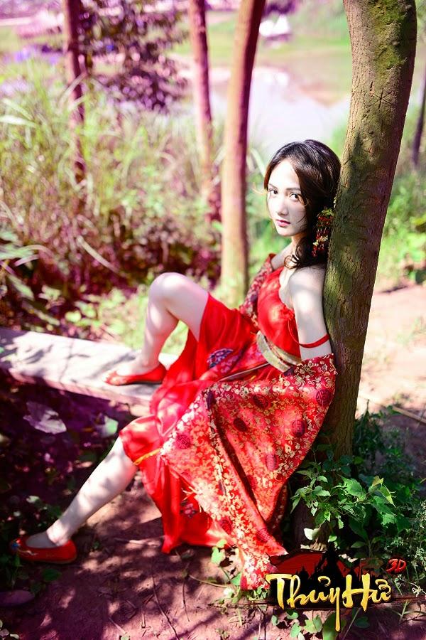 Game thủ Thủy Hử 3D khoe cosplay của bạn gái 2