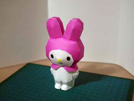 Sanrio My Melody Papercraft