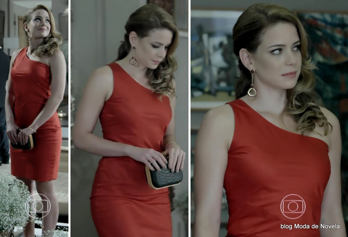 moda da novela Império, look da Cristina dia 24 de dezembro
