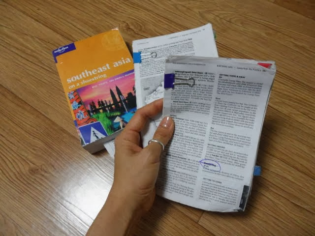 lonely planet guidebooks