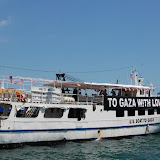 Leaving port, then under siege on July 1