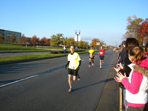 Mile 4.5 2012 Indianapolis Marathon and Half Marathon