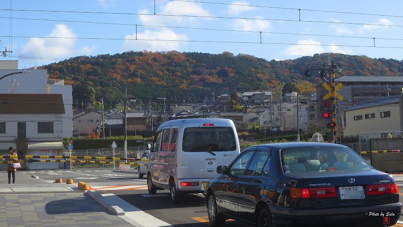 京阪電鐵鳥羽街道站平交道