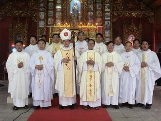 Thánh lễ tạ ơn, khánh thành trùng tu Nhà thờ giáo xứ Bình Sa
