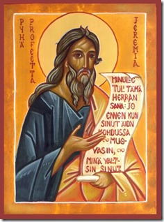 Jeremiah the Biblical Prophet