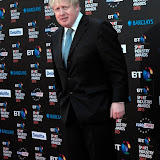 WWW.ENTSIMAGES.COM - Mayor Boris Johnson  at      BT Sport Industry Awards at Battersea Evolution, Battersea Park, London May 2nd 2013                                                  Photo Mobis Photos/OIC 0203 174 1069