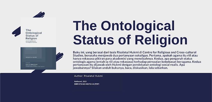 The Ontological Status of Religion - Ebook Gratis dari Antinomi Institute