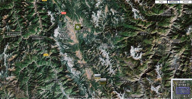 Localisation des photos autour de Shangri-la (Xianggelila)