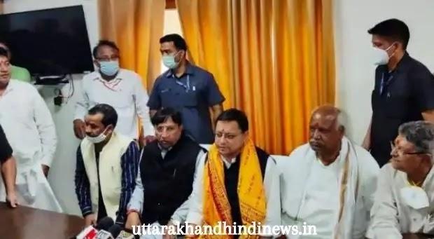 श्रीराम भूमि पहुंचे सीएम धामी, रामलला दरबार में दी हाज़िरी - UTTARAKHAND NEWS