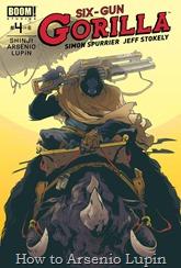 Actualización 30/09/2016: en el último día del mes les traemos otro número más de Six-Gun Gorilla, el #04 traducido por Shinji y maquetado por Arsenio Lupín.