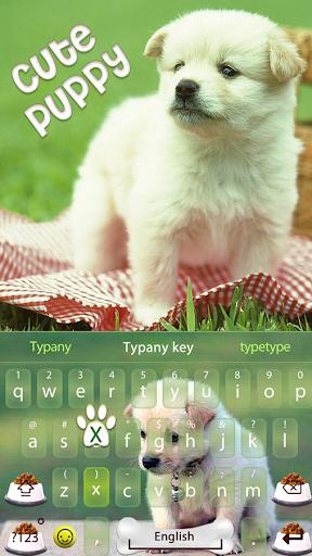 mod Cute Puppy Theme Keyboard 4.5 screenshots 1
