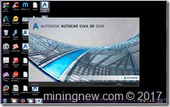 Autocad CIvil 3D 2018 miningnew.com