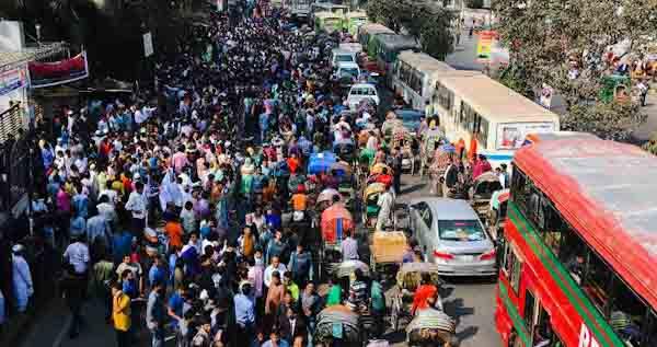 Dhaka overpopulation