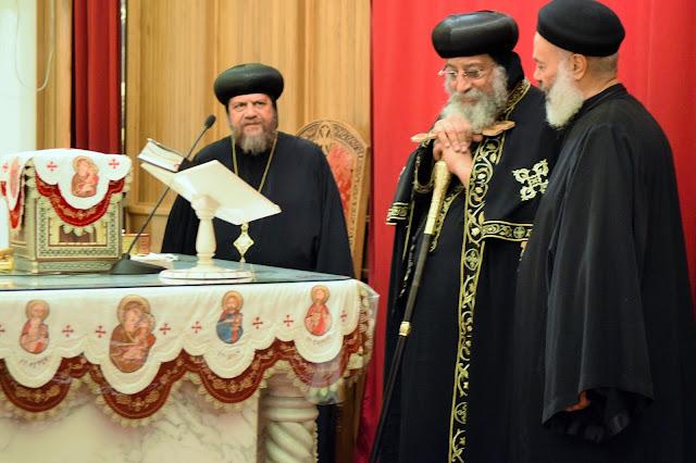 His Holiness Pope Tawadros II visit to St. Mark LA - DSC_0150.JPG