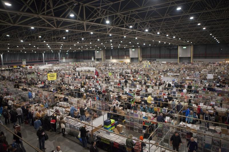 Mega Platen en CD beurs 2016