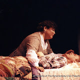 Pat Kerston and Christopher Foster in LOOK HOMEWARD, ANGEL (R) - March 1994.  Property of The Schenectady Civic Players Theater Archive.