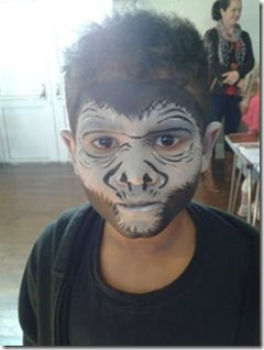 Maquillaje de gorila (6)