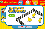 Curious George- Count Your Chickens