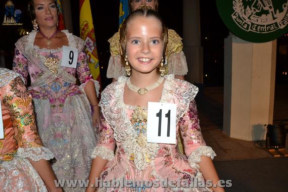 #elecció2016. Corte de Honor de la Fallera Mayor Infantil de Valencia 2016.