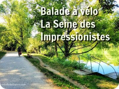 Balade à vélo de Paris Etoile au Vésinet : La Seine des Impressionnistes