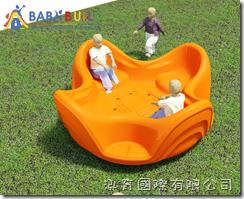 BabyBuild 共融旋轉盤
