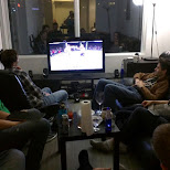 watching UFC in Toronto in Toronto, Ontario, Canada