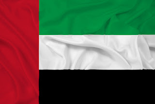 Flag for United Arab Emirates 2018