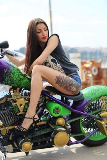 Mulher em moto, Gostosas Tatuada, Woman,Sexy , tatuaje, tatuagem,tattoo,tatoué, tatouage, bike,Motorcycle, sexy on bike, sexy on motorcycle, babes on bike,ragazza in moto,donna calda in moto, femme chaude sur la moto, mujer caliente en motocicleta, chica en moto, heiße Frau auf dem Motorrad