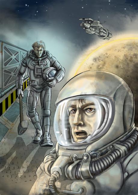 Иллюстрация к рассказу, художник А.Цепков