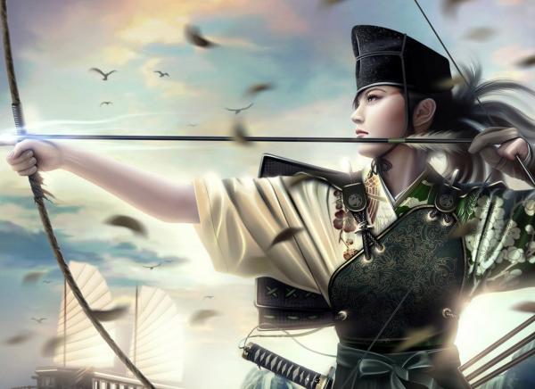 Archer Of Samurai, Magic Samurai Beauties