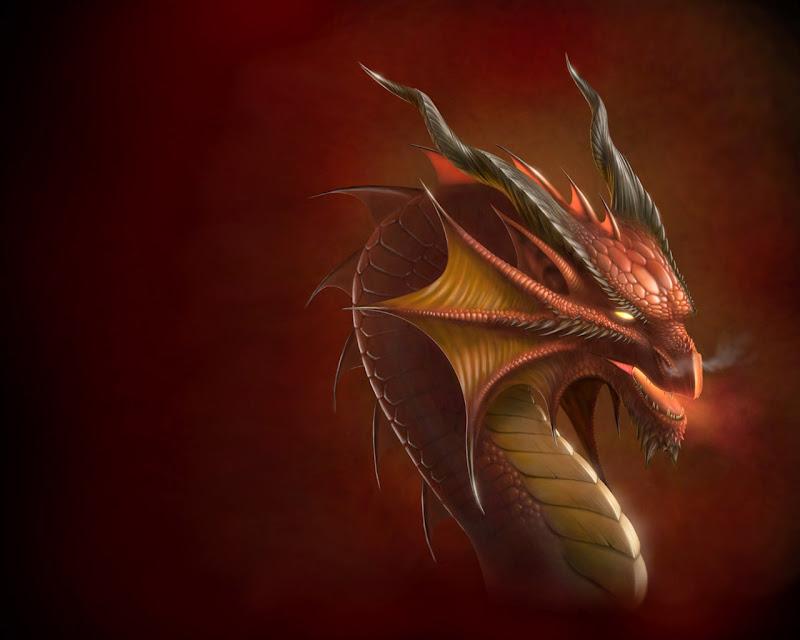 Dragon Head Wallpaper, Celtic And Druids