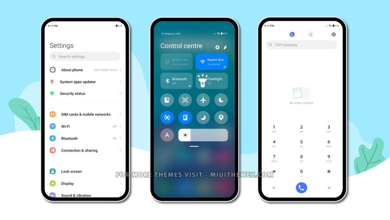 Samsung UI 3.0 MIUI Theme