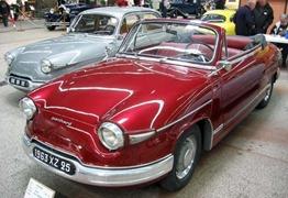 Panhard 1959 PL17 cabriolet